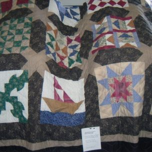 Civil War Quilt by Donna Logsdon