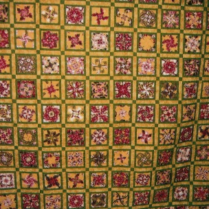 Quilt by Peggy Moss - Four Patch Posey