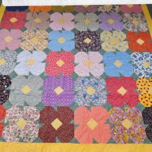 Butterfly Garden was 2014 Raffle Quilt
