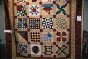 Civil War Quilt by Diane McFarland