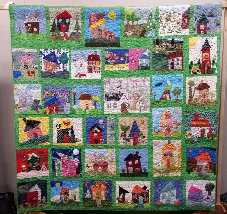 Wonky Quilt is complete! Buy aticket!