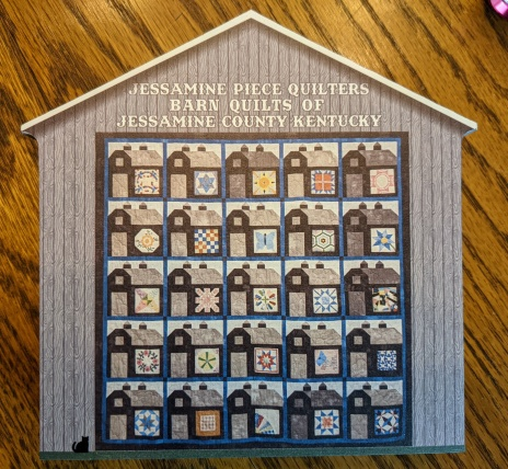 """Wooden block approx. 6""""x6"""" available from any Jessamine Piece Quilters member for $25 or see them at our quilt show on Sept 25, 2021"""